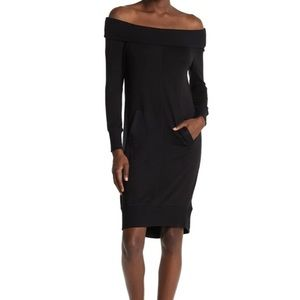 New 14th place off shoulder sweater dress XS